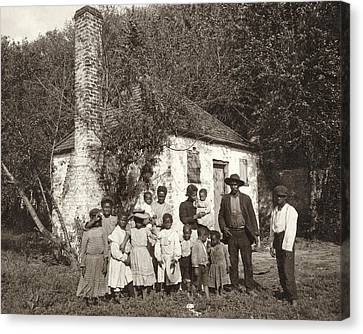Slave Quarters, C1907 Canvas Print by Granger