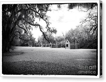 Slave Quarters Canvas Print by John Rizzuto