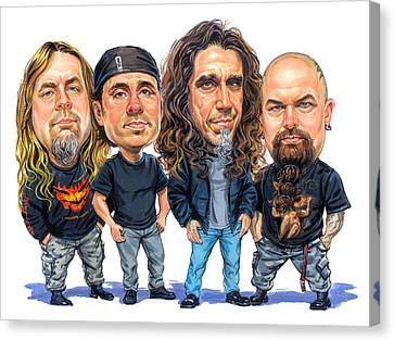 Slayer Canvas Print by Art