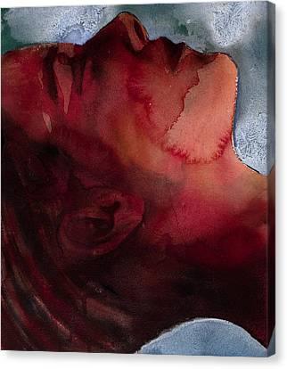 Unconscious Canvas Print - Sleeper Head by Graham Dean