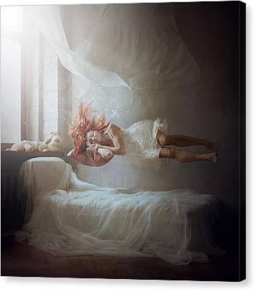 Sleeping Canvas Print by Anka Zhuravleva