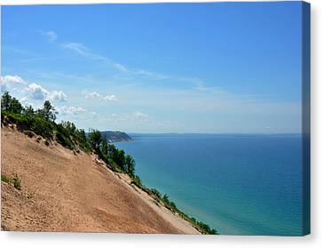 Sleeping Bear Dunes Canvas Print by Diane Lent