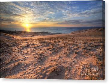 Sleeping Bear Dunes Sunset Canvas Print