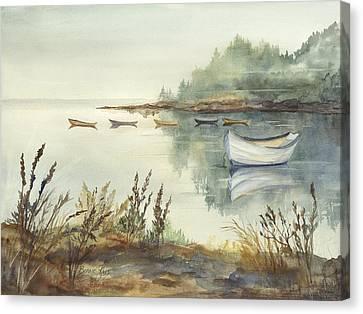 Sleeping Dories Canvas Print