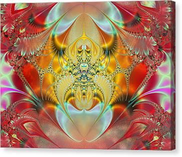 Sleeping Genie Canvas Print