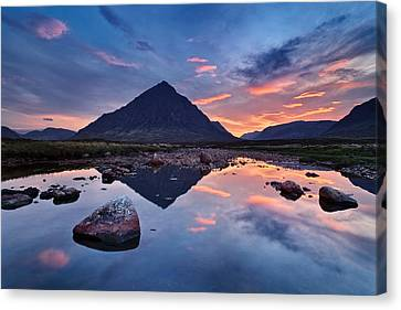 Sleeping Giant - Buachaille Etive Mor Canvas Print by Michael Breitung