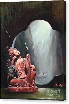 Sleeping Kuan Yin Canvas Print