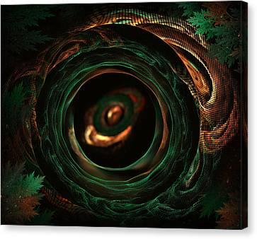 Sleeping Snake Canvas Print by Radoslav Nedelchev
