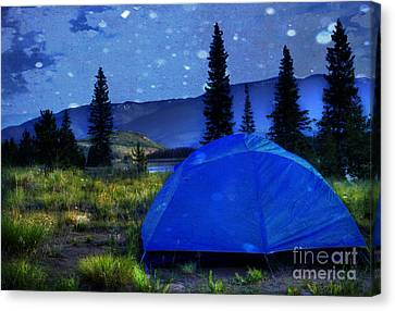 Sleeping Under The Stars Canvas Print by Juli Scalzi
