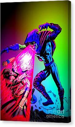 Sleepwalker 1e Canvas Print by Justin Moore