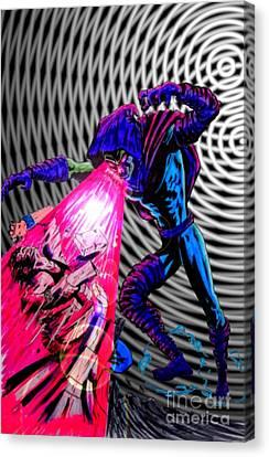 Sleepwalker 1f Canvas Print by Justin Moore