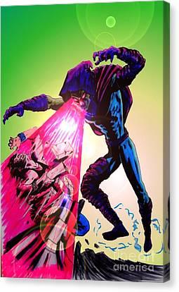 Sleepwalker 1h Canvas Print by Justin Moore