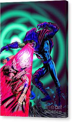 Sleepwalker 1i Canvas Print by Justin Moore