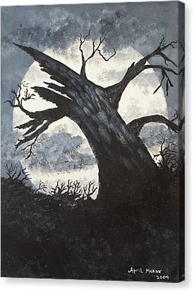Sleepy Hollow Canvas Print by April Moran
