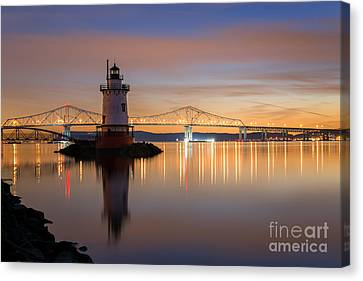 Sleepy Hollow Light Reflections  Canvas Print