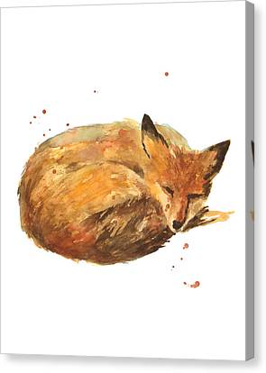 Sleepyhead Canvas Print by Alison Fennell