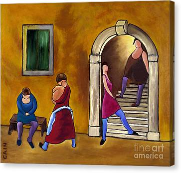Slice Of Life  Canvas Print by William Cain