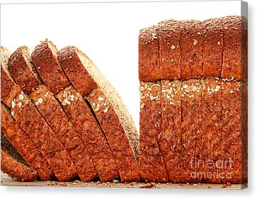 Sliced Bread Canvas Print by Olivier Le Queinec
