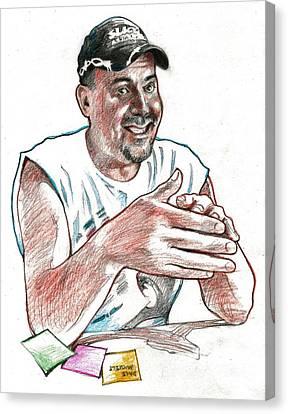 Slick Canvas Print by Dale Michels
