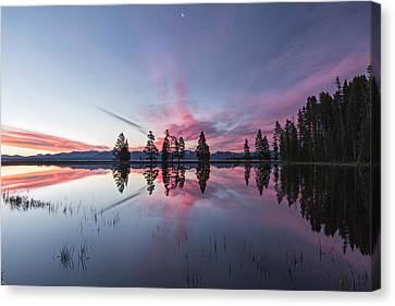 Slide Into The Day Canvas Print by Jon Glaser
