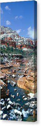 Slide Rock Creek In Wintertime, Sedona Canvas Print