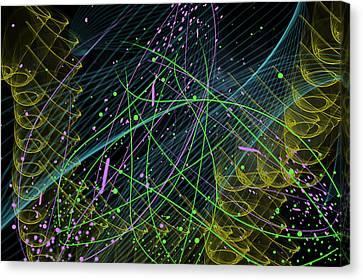 Slinky Celebration Canvas Print