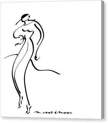 Slinky Canvas Print by Vince MacDermot