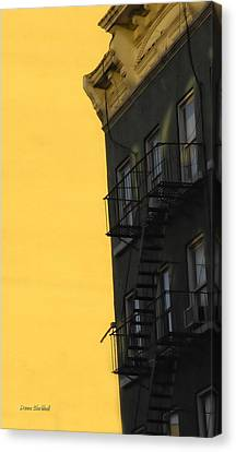 Slip Out The Back Jack Canvas Print