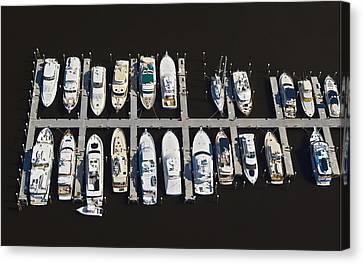 Slip Space C Canvas Print by Patrick M Lynch