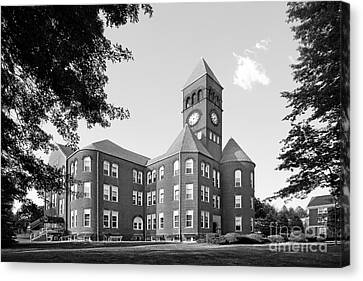 Slippery Rock University Old Main Canvas Print by University Icons