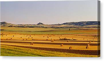 Slope Country Nd Usa Canvas Print