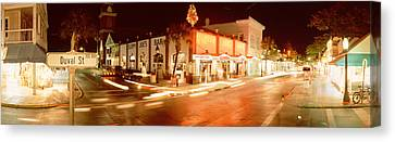 Road Sign Canvas Print - Sloppy Joes Bar, Duval Street, Key by Panoramic Images