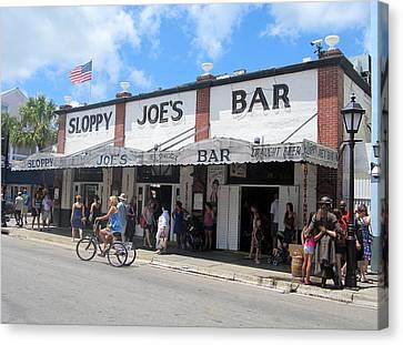Sloppy Joes Key West 2 Canvas Print