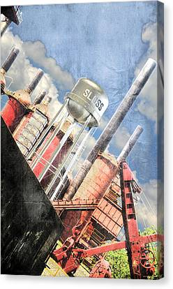 Sloss Furnace Canvas Print by Davina Washington