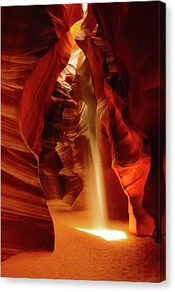 Slot Canyon, Upper Antelope Canyon Canvas Print