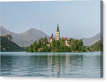 Slovenia, Bled, Bled Island (large Canvas Print by Rob Tilley