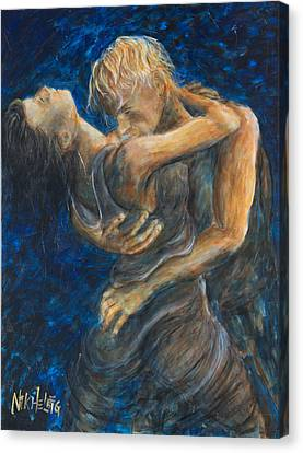 Slow Dancing IIi Canvas Print by Nik Helbig