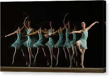 Ballerinas Canvas Print - Slow Motion by