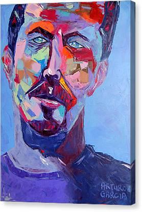 Slowhand Canvas Print by Arturo Garcia