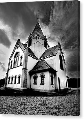 Small Church Canvas Print