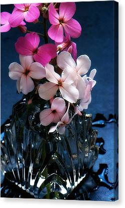 Canvas Print featuring the photograph Small Flowers by Michael Dohnalek