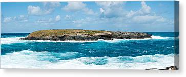 Small Island In The Sea, Flinders Chase Canvas Print by Panoramic Images