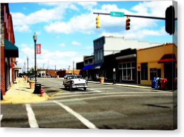 Small Town 3 Canvas Print by Rodney Lee Williams