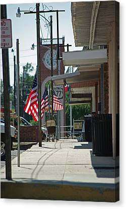 Small Town America Canvas Print by Robyn Stacey