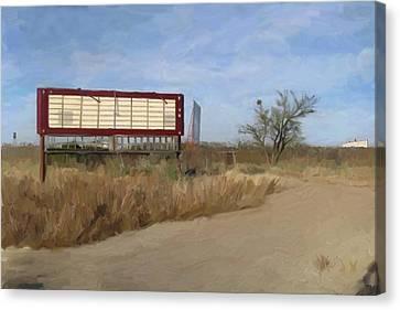 Small Town Texas Canvas Print by GCannon