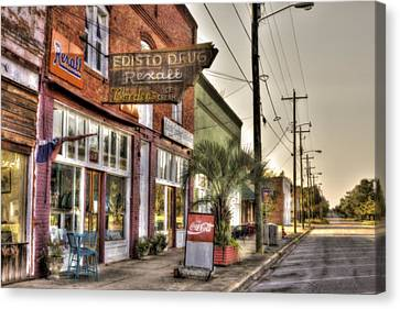 Small Town U. S. A. Canvas Print