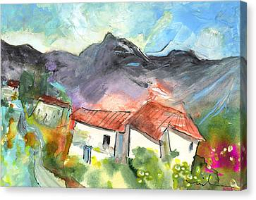 Small Village In The South Of France Canvas Print