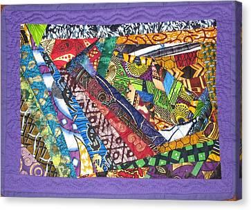 Small Wonder Canvas Print by Aisha Lumumba