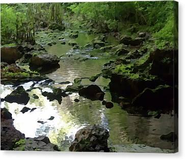 Smallin Creek Canvas Print by Julie Grace