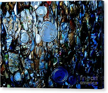 Canvas Print featuring the photograph Smashed by Cynthia Lagoudakis